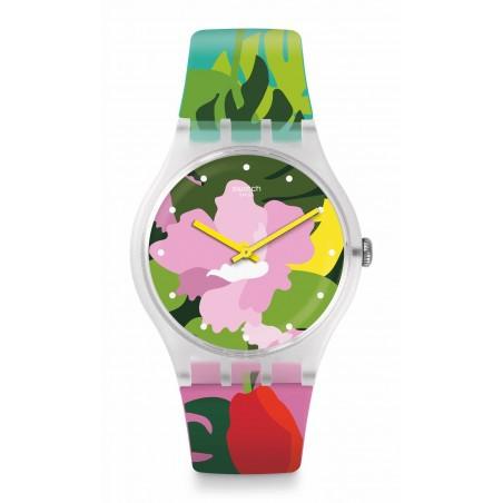 Reloj Swatch Tropical Garden SUOK132