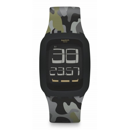 Reloj Swatch Iswatch Invisible SURB119C