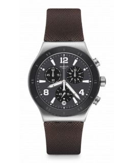 Reloj Swatch Duo Brown YVS450