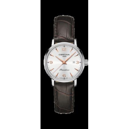 Reloj Certina Ds Caimano Lady Marrón