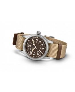Reloj Hamilton Khaki Field Mechanical Marrón