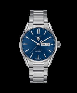 Reloj Tag Heuer Carrera Calibre 5 Day-date Azul