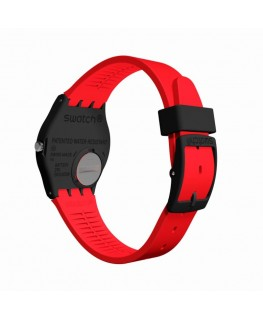 Reloj Swatch Red Grin GB754