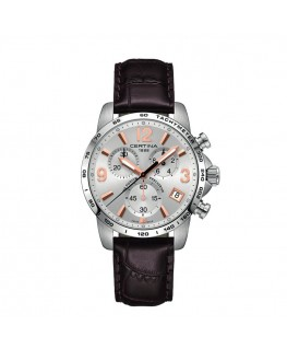 Reloj Certina DS Podium Chronograph Piel Marrón