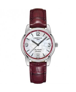 Reloj Certina DS Podium Lady 33mm Piel