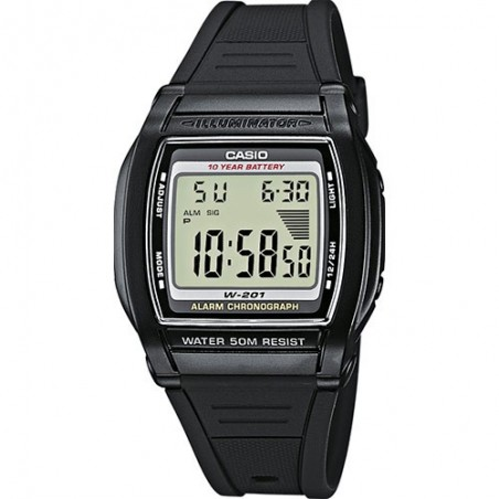 Reloj Casio W-201-1AVEF