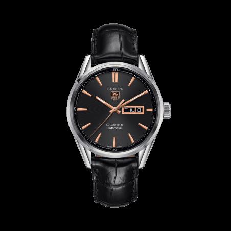 Reloj Tag Heuer Carrera Calibre 5 Day-Date Negro