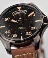 Reloj Hamilton Khaki Aviation Day Date Auto Marrón