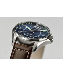 Reloj Hamilton Khaki Pilot Day Date Auto Azul