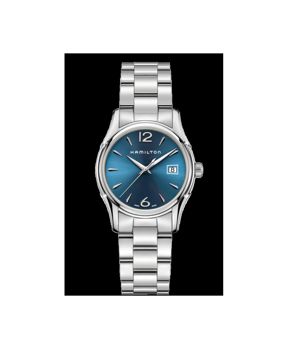 Reloj Hamilton Jazzmaster Lady Auto Azul