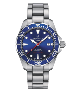 Reloj Certina Ds Action Diver Powermatic 80 Azul