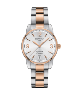 Reloj Certina Ds Podium Lady 33mm Rosado