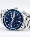Reloj Hamilton Jazzmaster Seaview Day Date Quartz Azul