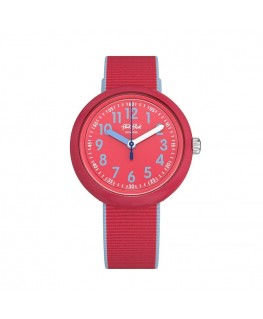 Reloj Flik Flak Color Blast Red FPNP045