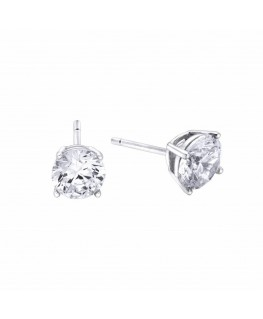 Pendientes Pretty Jewels Circonita de plata de Duran Exquse