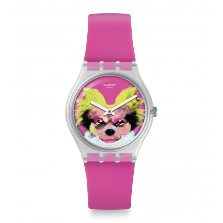 Reloj Swatch Pinkapippa GE267