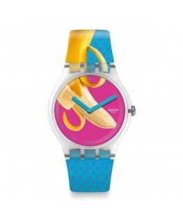 Reloj Swatch Banana Slip SUOK140