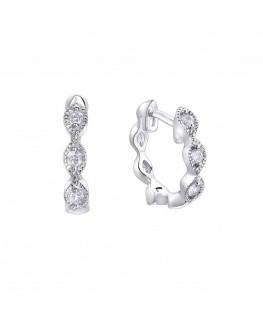Pendientes Criolla Pretty Jewels de plata de Duran Exquse