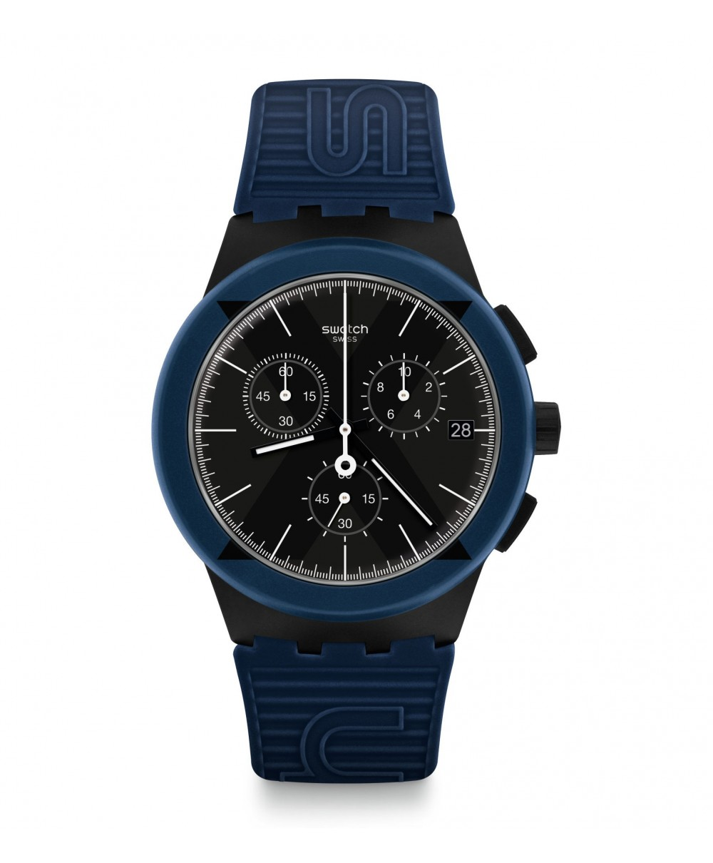 Reloj Swatch X-District Blue SUSB418