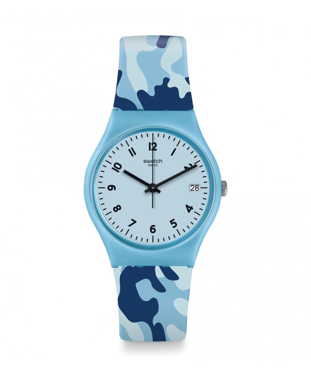 Reloj Swatch Camoublue GS402