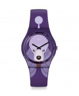 Reloj Swatch Purple Poodle GV133