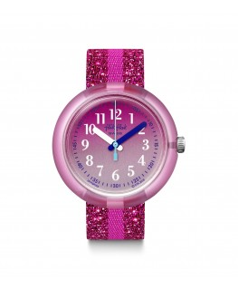 Reloj Flik Flak Pink Sparkle FPNP053