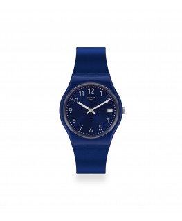 Reloj Swatch Silver in Blue GN416