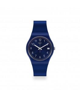 Reloj Swatch Silver in Blue GN416