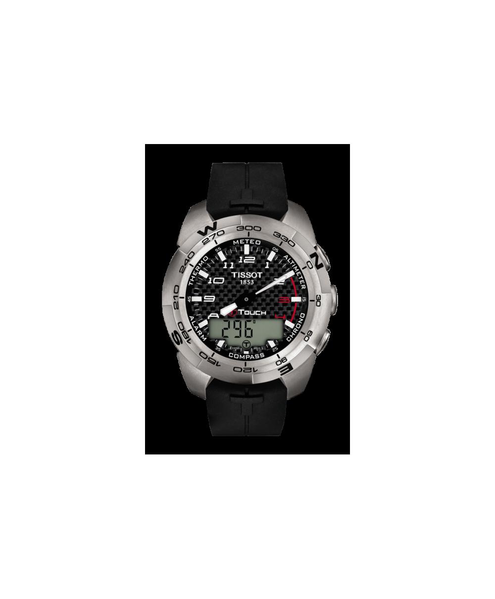 Reloj Tissot T-touch Expert Titanium Negro