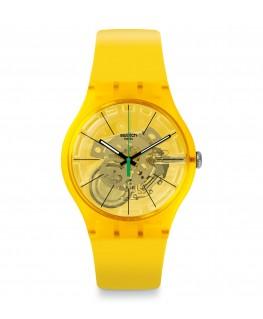 Reloj Swatch Bio Lemon SUOJ108