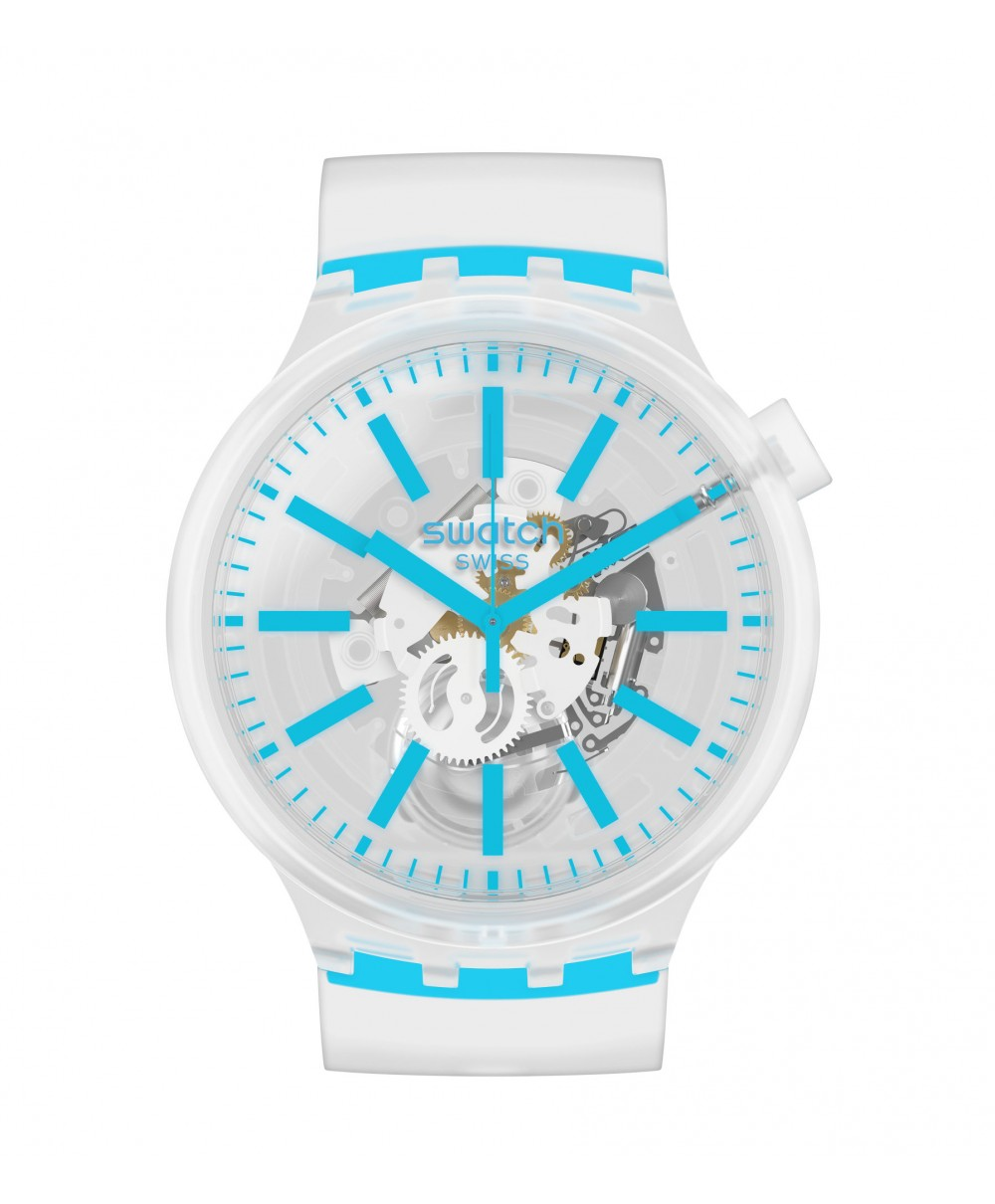 Reloj Swatch Blueinjelly SO27E105