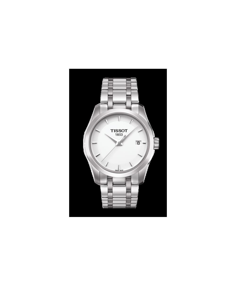 Reloj Tissot Couturier Lady Blanco