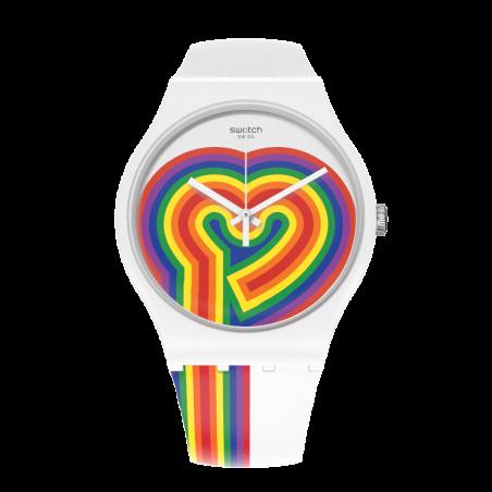 Reloj Swatch Beating Love SUOW171