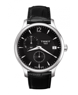 Reloj Tissot Tradition Gmt Negro