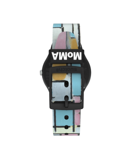 Reloj Swatch Moma Composión Óvalo con Color