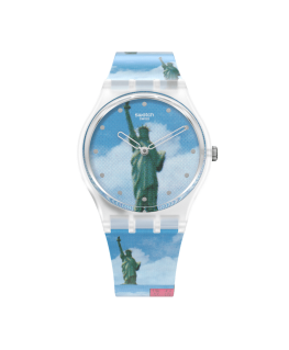 Reloj Swatch Moma New York By Tadanori Yokoo