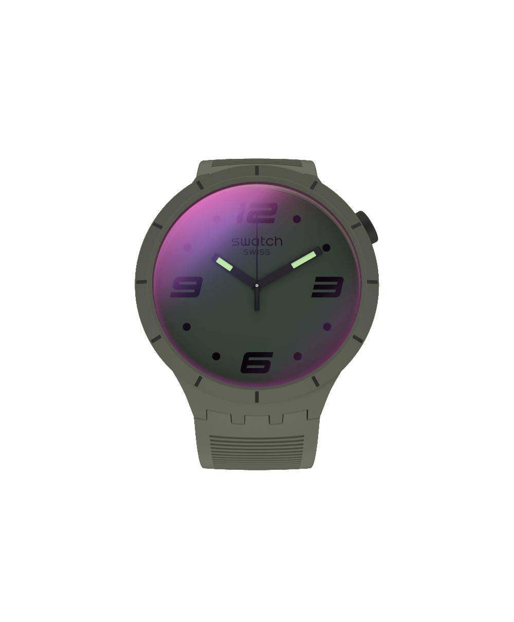 Reloj Swatch Futuristic Green SO27M105