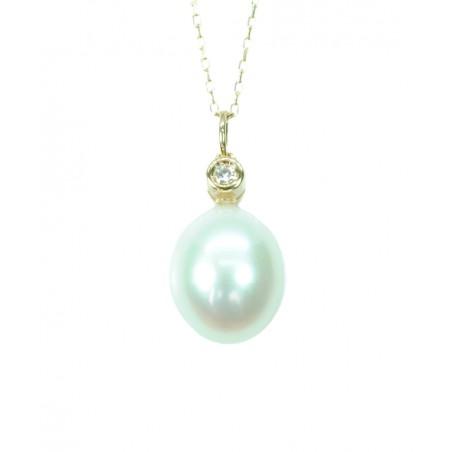 Colgante Oro Blanco 556857-3