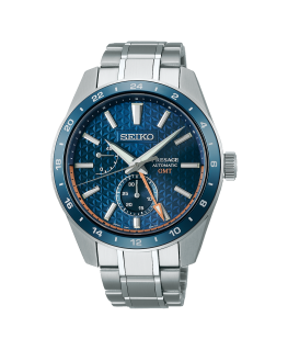 Reloj Seiko Presage Sharp Edged GMT Azul