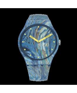 Reloj Swatch The Starry Night Van Gogh SUOZ335