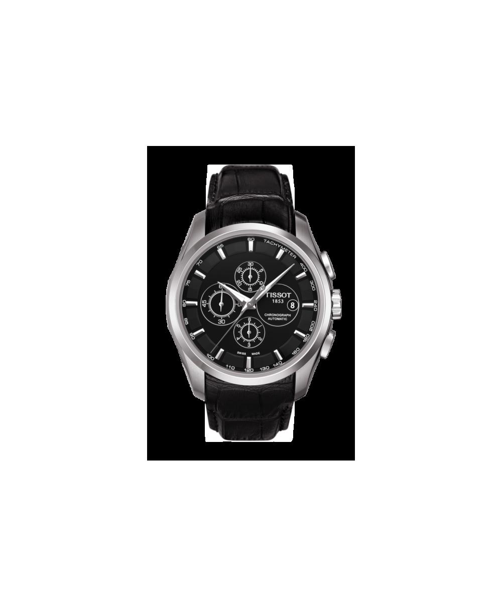 Reloj Tissot Couturier Automatic Chronograph Negro