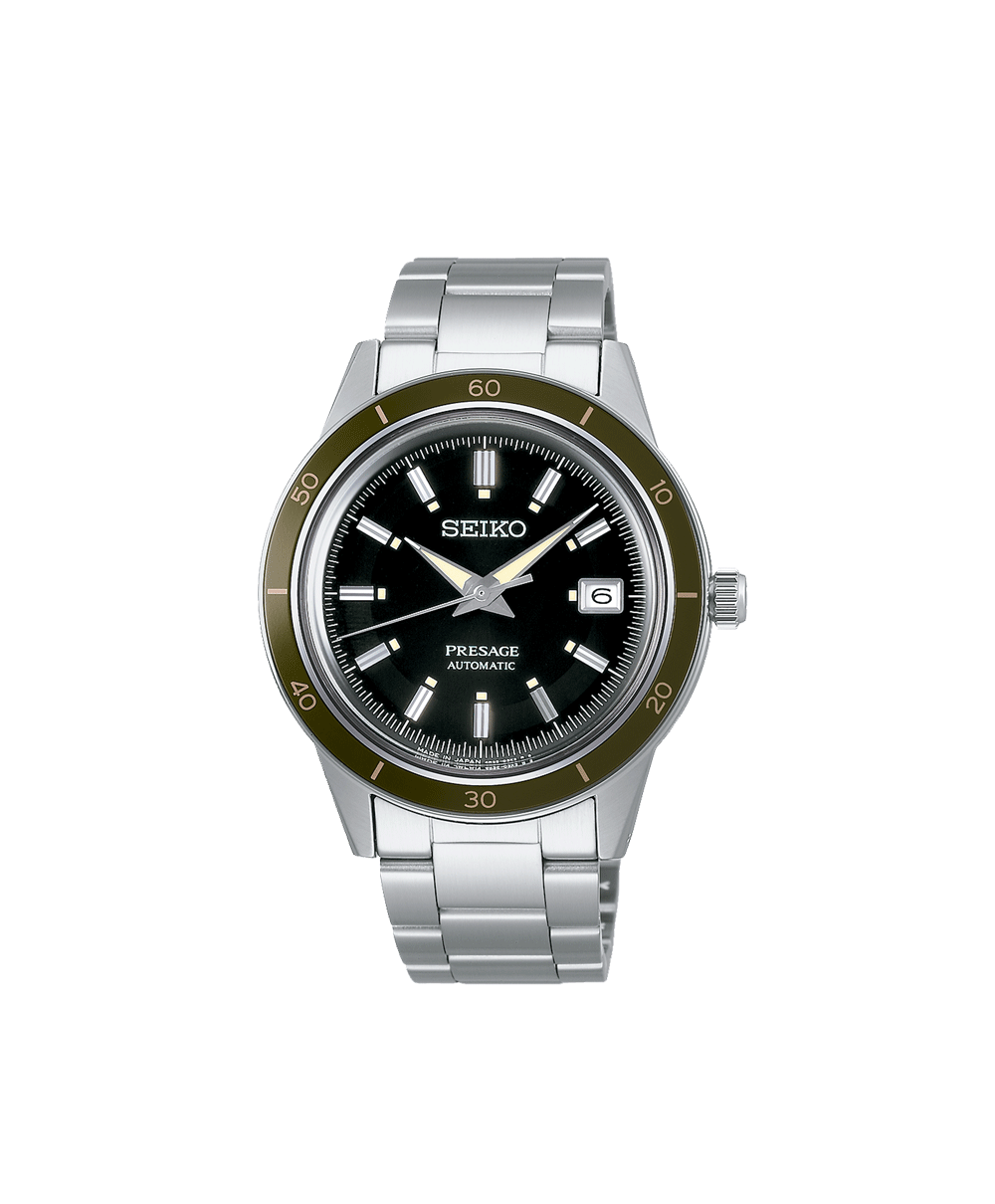 Reloj Seiko Presage Style 60 Automático Verde Olivo SRPG07J1