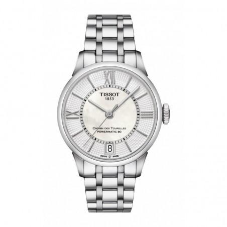 Reloj Tissot Chemin Des Tourelles Powermatic 80 Lady