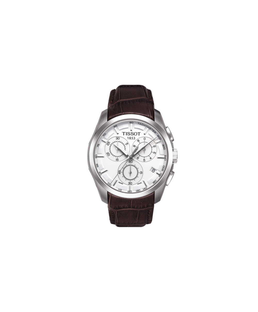 Reloj Tissot Couturier Chronograph Blanco