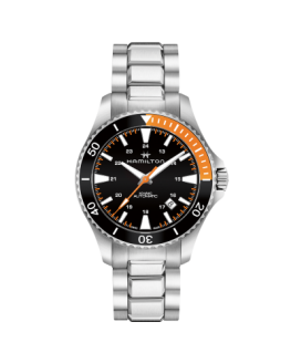 Reloj Hamilton Khaki Navy Scuba Auto Naranja