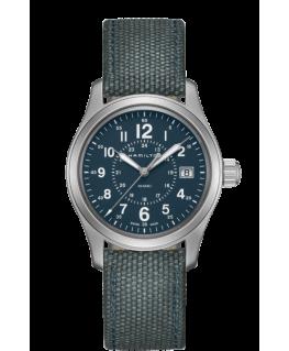 Reloj Hamilton Khaki Field Quartz Azul