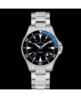 Reloj Hamilton Khaki Navy Scuba Auto Azul