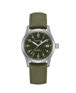 Reloj Hamilton Khaki Field Mechanical Verde