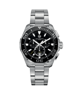 Reloj Tag Heuer Aquaracer Chronograph 43 mm Negro