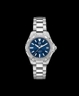 Reloj Tag Heuer Aquaracer Mujer 300m Azul